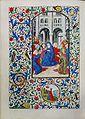 Stundenbuch der Maria von Burgund Wien cod. 1857 Herabkunft des Heiligen Geistes.jpg