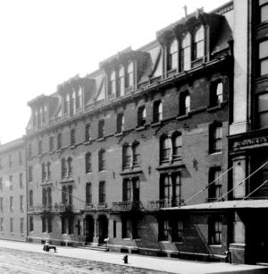 Stuyvesant Apartments - Image: Stuyvesant Apartments July 3, 1934