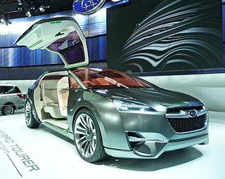 Subaru Hybrid Tourer