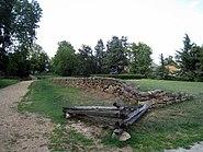 Sunken Road Original Section in Fredericksburg and Spotsylvania National Military Park