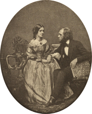 Edward Everett Hale - Edward Everett Hale with his sister Susan in 1855