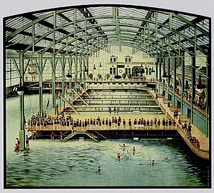 Sutro District - Main plunge, Sutro Baths (1896).