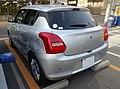 Suzuki SWIFT XG LIMITED (DBA-ZC83S-VBGE-L) rear.jpg