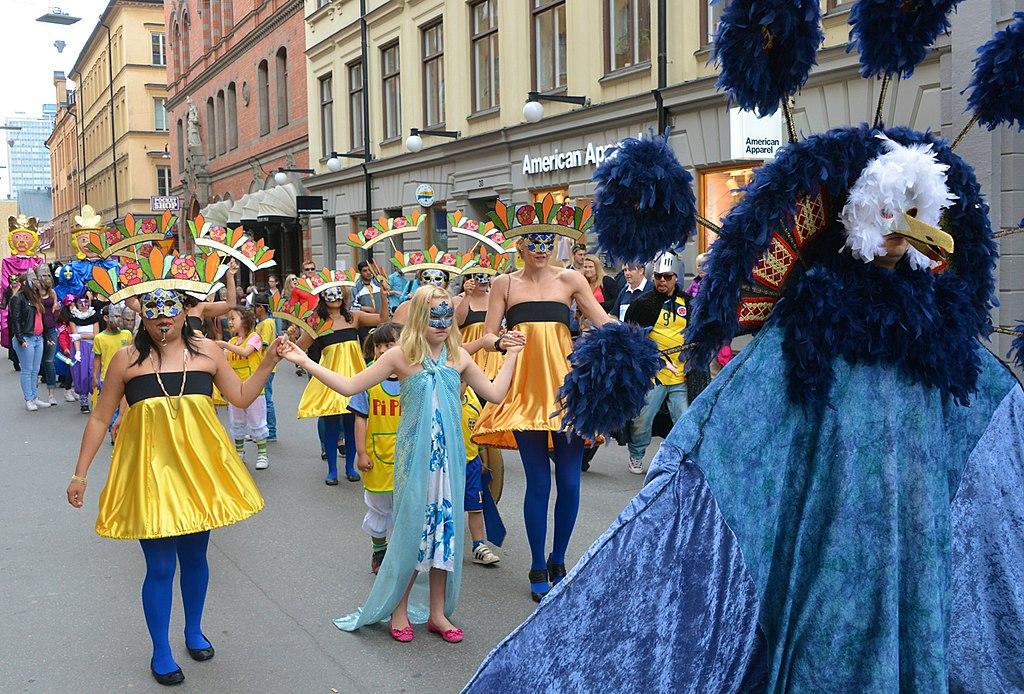 Sveriges Nationaldag 2014- Karnevalen