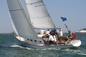 Swan 36 - Swan 36 GBR23806 Finola at the 2013 Swan Europeans in Cowes (GBR) held by the Royal Yacht Squadron
