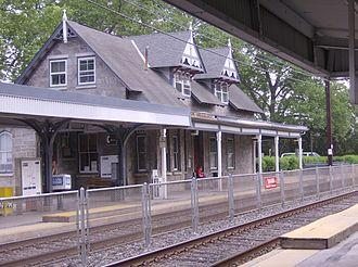 Swarthmore, Pennsylvania - Image: Swarthmore Station