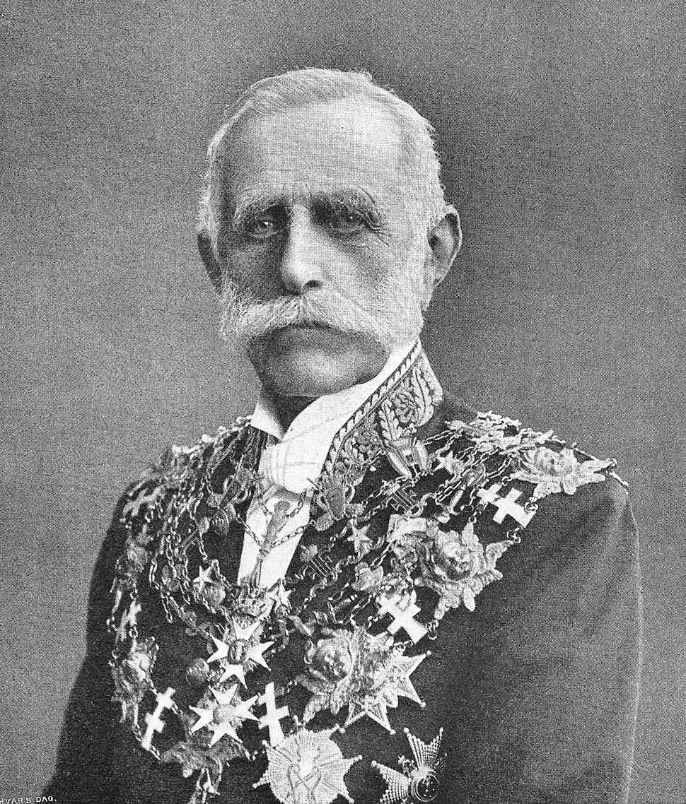 Swedish Reichsmarschall Fredrik von Essen