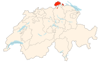 Switzerland Locator Map SH.svg