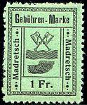Switzerland Madretsch 1903 revenue 1Fr - 5.jpg
