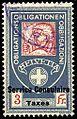 Switzerland federal consular revenue 1915 3Fr - 4.jpg