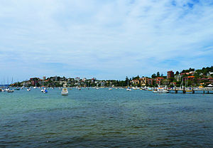 Double Bay, New South Wales - View of Sydney Harbour from Steyne Park, Double Bay, NSW