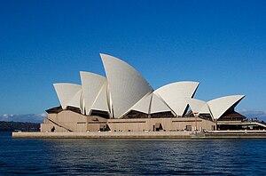 Sydney Opera House on Operahuset I Sydney   Wikipedia  Den Frie Encyklop  Di
