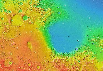 Syrtis Major Planum - Image: Syrtis Isidis zoom 64 pano