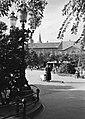 Szabadka 1941, Szent István tér (Trg Republike) a Városháza felől nézve. Fortepan 27503.jpg