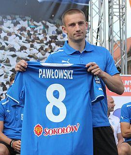 Szymon Pawłowski (footballer) Polish footballer