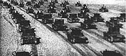 T-26s Big Kievs maneuvers 1935