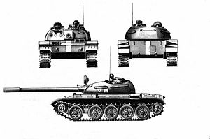 T-55, Basisversion