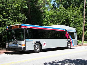 Transit Authority of River City - TARC 2010 Gillig Diesel Hybrid - Electric Advantage