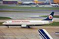 TC-AGA B737-4Y0 Istanbul LHR 06FEB00 (6311895476).jpg