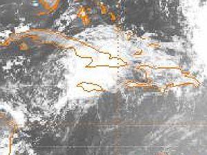 1979 Atlantic hurricane season - Image: TD2 12 jun 1979 1500Z