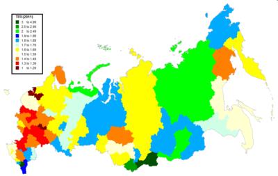 Demographics of Russia Wikipedia