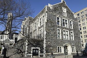 High School for Math, Science and Engineering at City College - Baskerville Hall, where HSMSE is located