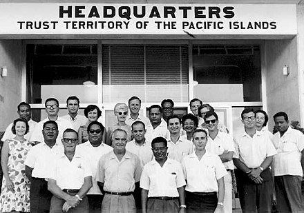 TTPI High Commissioner and staff, 1960s TTPI High Commissioner and staff.jpg