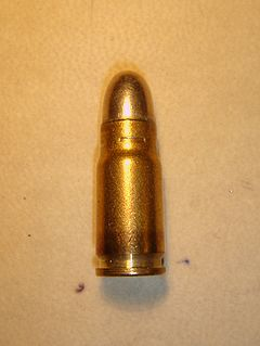 7.65×21mm Parabellum cartridge