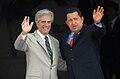 Tabaré Vázquez with Hugo Chávez.jpg