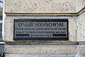 Tablica Oskar Sosnowski Wydział Architektury PW.JPG