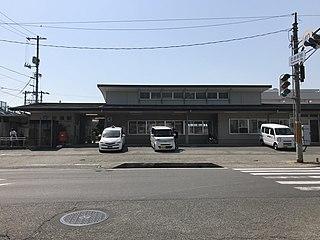 Tadanoumi Station Railway station in Takehara, Hiroshima Prefecture, Japan