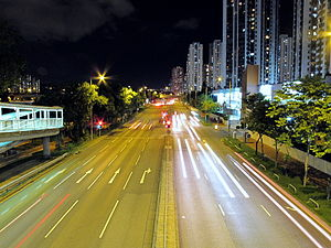 Tai Chung Kiu Road Night View 2010.jpg