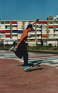 Freestyle skateboarding