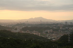 Taipei View From Maokong.