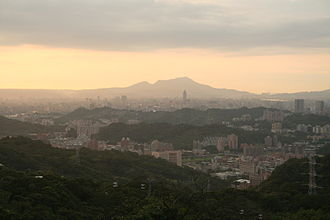 Taipei - The city of Taipei, as seen from Maokong.