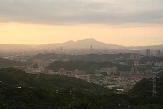 Taipei - The city of Taipei, as seen from Maokong.