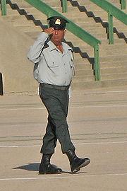 CWO Yitshak Taito, Quartermaster of IDF Officers Academy