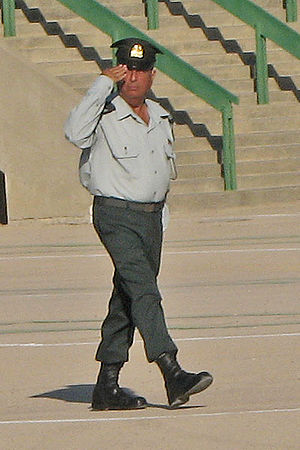 Quartermaster - CWO Yitshak Taito, Rasar of IDF Officers' Academy