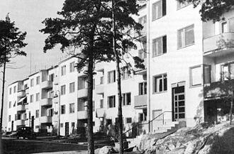 Hammarbyhöjden - Hammarbyhöjden in 1940.
