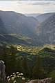 Tara River Canyon from Ćurevac.jpg