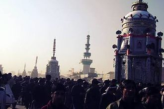 "Shia Islam in Pakistan - Tazia procession in chiniot city at ""Ashura"""