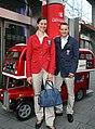 Team Austria - Olympic Games 2012 - farewell party, Simone Prutsch, Michael Lahnsteiner.jpg