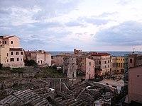 Teatro romano sulla Piazza Municipio di Terracina (LT), Lazio, Italy - 2020-07-17.jpg