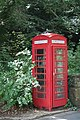 Telephone booth in Eccleston, Cheshire, England.jpg