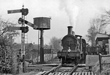 Last Day of service in 1954 & Tenterden Town railway station - Wikipedia