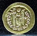 Tesoretto di sovana 113 solido di leone I (462 o 466), zecca di costantinopoli Γ (gamma).JPG