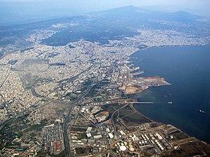 Tessaloniki aus der Luft