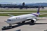 Thai Airways Boeing 777-3ALER - HS-TKQ (ZRH) (21725841088).jpg