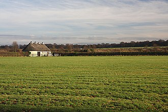 Godolphin (racing) - Thatched barn at Godolphin Stables