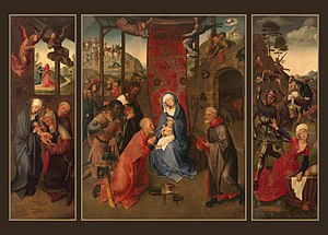 Adoration of the Magi (Triptych)